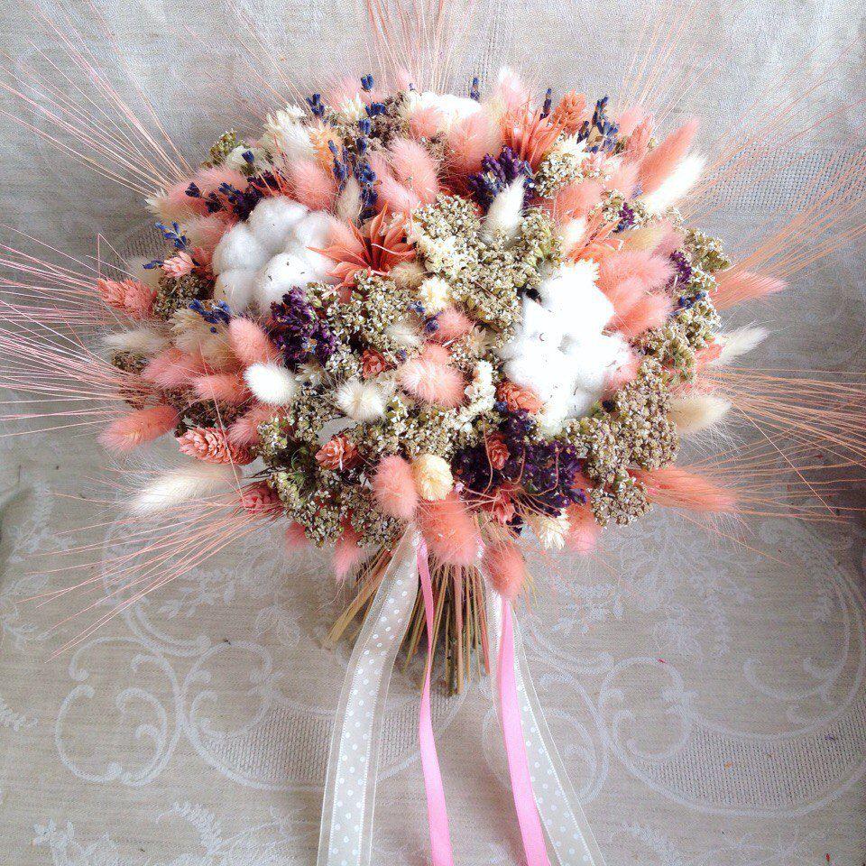 букет невесты, букет из сухоцветов, цветы, шебби-шик, флористика, подарок на любой случай, лаванда