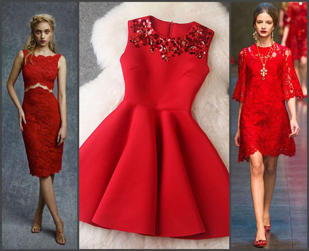 6d51e55b01f Встречаем Новый год в красном платье – Ярмарка Мастеров