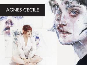 Акварельное вдохновение от Agnes Сecile. Ярмарка Мастеров - ручная работа, handmade.
