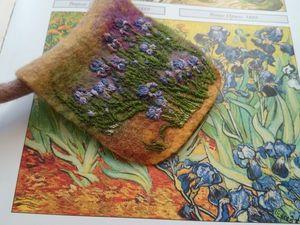 Пора цветущих ирисов. Ярмарка Мастеров - ручная работа, handmade.
