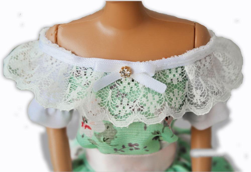 история костюма, идея подарка, обучающие материалы, одежда для барби, бидермейер