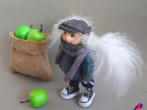 Терентий. Ангел-садовод. Ярмарка Мастеров - ручная работа, handmade.