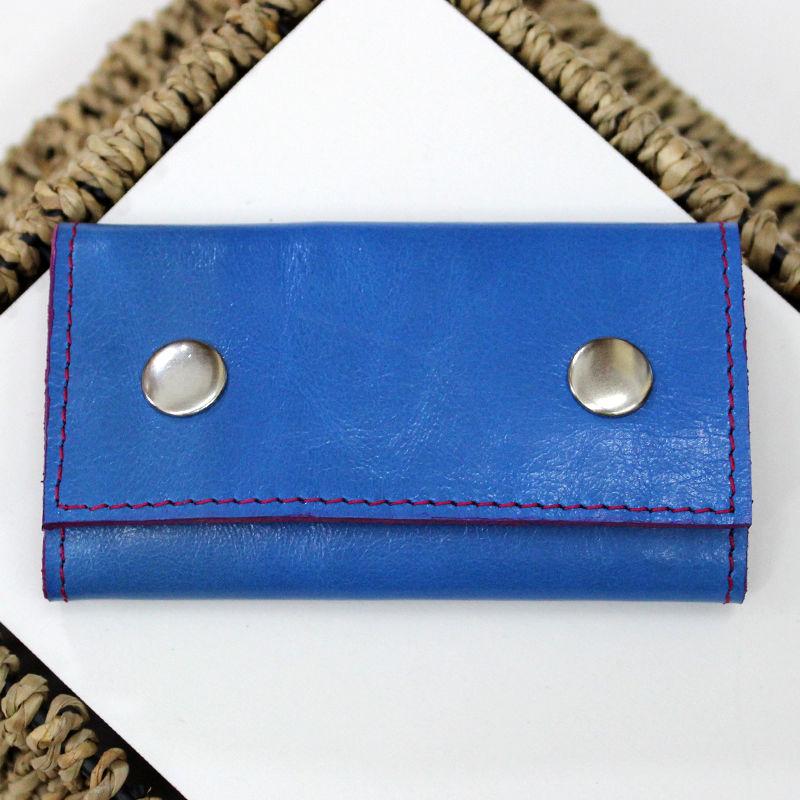 Tutorial on Making a Leather Key Bag, фото № 25
