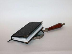 Записная книжка Черная классика. Ярмарка Мастеров - ручная работа, handmade.