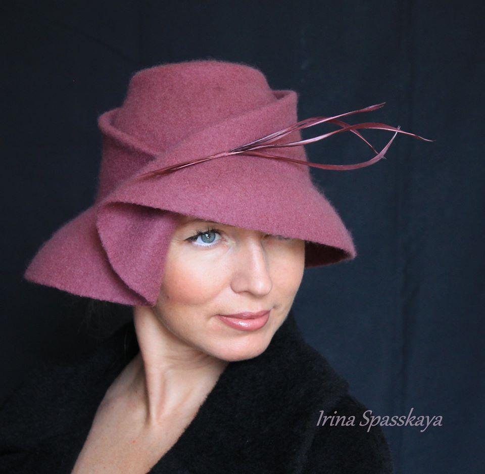 семинар шляпка, валяние, валяная шляпка