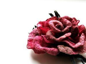 Новогодняя акция на броши-розы!!!. Ярмарка Мастеров - ручная работа, handmade.