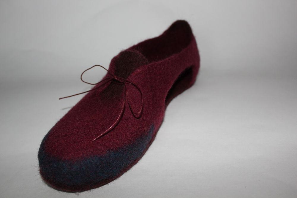 войлочная обувь, новая технология