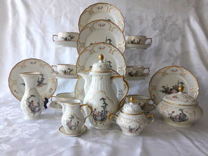 Изумительный чайный сервиз Hoeroldt Arkadien, Rosenthal. Ярмарка Мастеров - ручная работа, handmade.