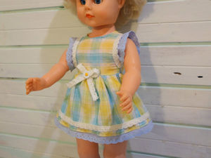 Реставрация пластмассово-виниловой куклы. Ярмарка Мастеров - ручная работа, handmade.