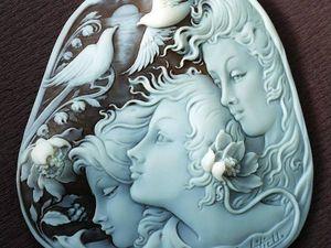 Эти прекрасные самоцветы. Камеи. Ярмарка Мастеров - ручная работа, handmade.