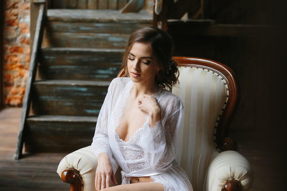 для утра невесты, свадебный халат