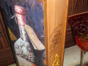 Короб для вина - новинка!. Ярмарка Мастеров - ручная работа, handmade.