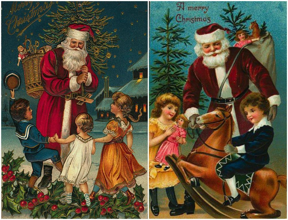 Новогодние открытки из прошлого века, денька открытки прикольные