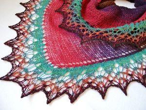 Мини шали асимметричной формы -самая популярная модель!. Ярмарка Мастеров - ручная работа, handmade.