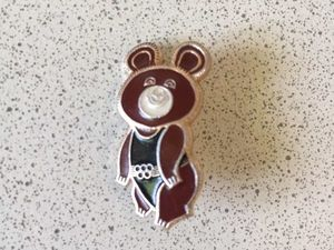 значки, олимпиада 80, олимпийский мишка, ссср, советский мишка. Ярмарка Мастеров - ручная работа, handmade.