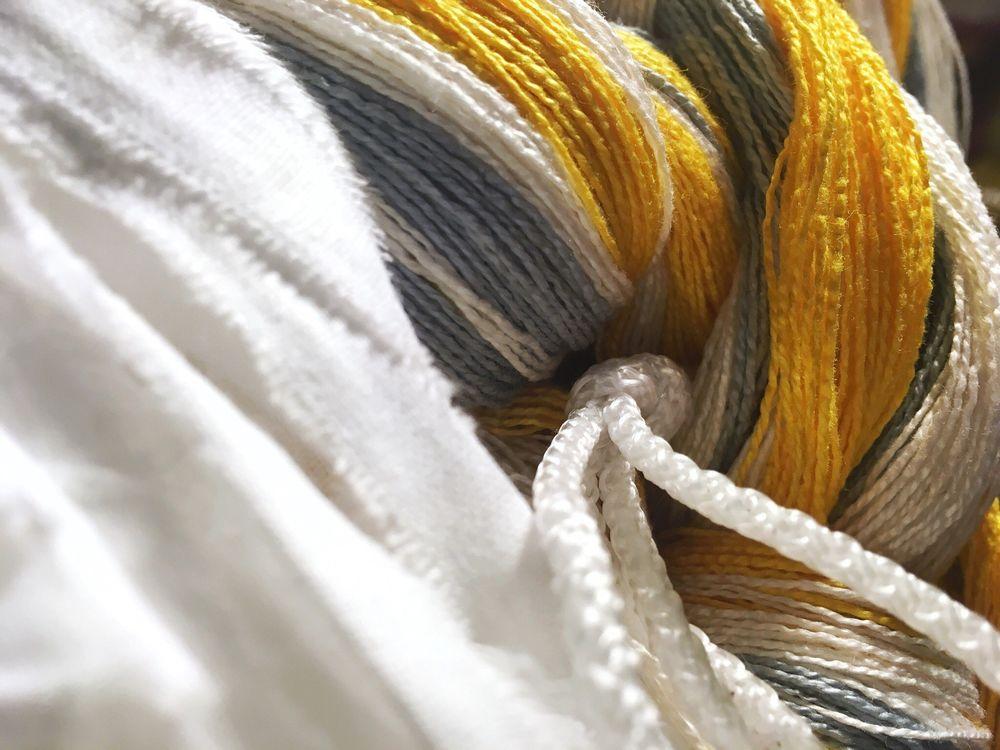 ткачество, шарф, домотканый шарф