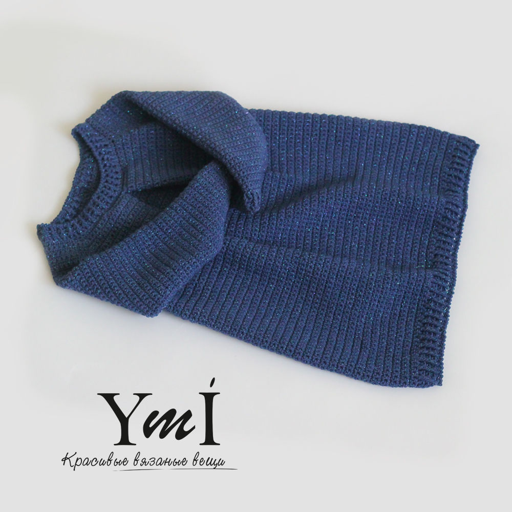 как связать реглан, вязаный свитер