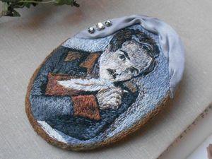 Портрет Лермонтова - дополнительные фото. Ярмарка Мастеров - ручная работа, handmade.
