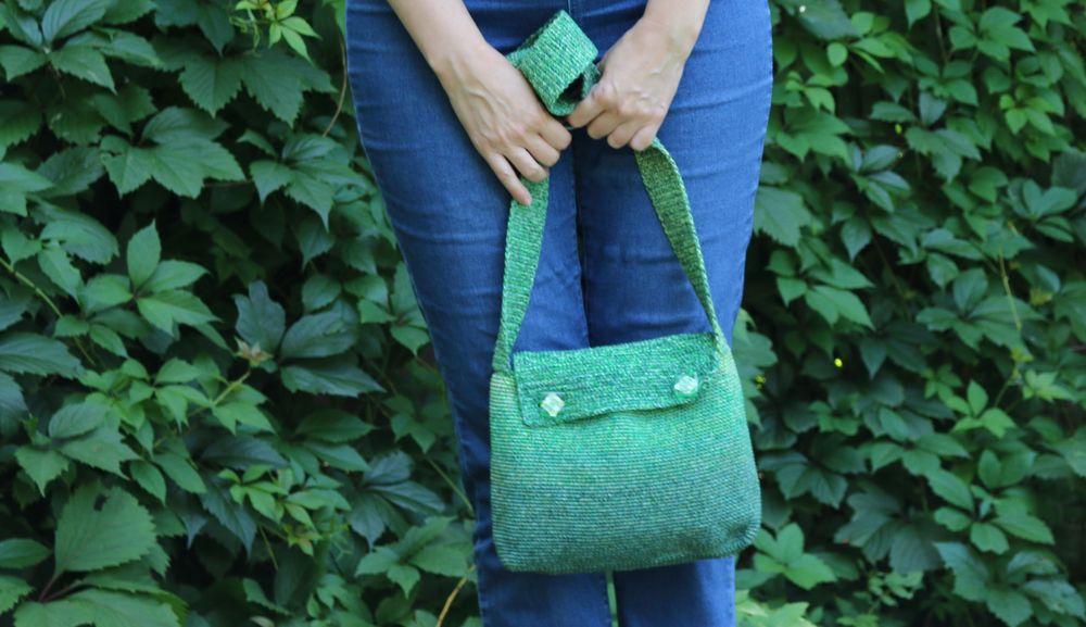 купить вязаную сумку, вязаная сумочка
