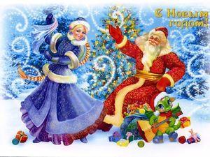 Снегопад новогодних открыток. Ярмарка Мастеров - ручная работа, handmade.