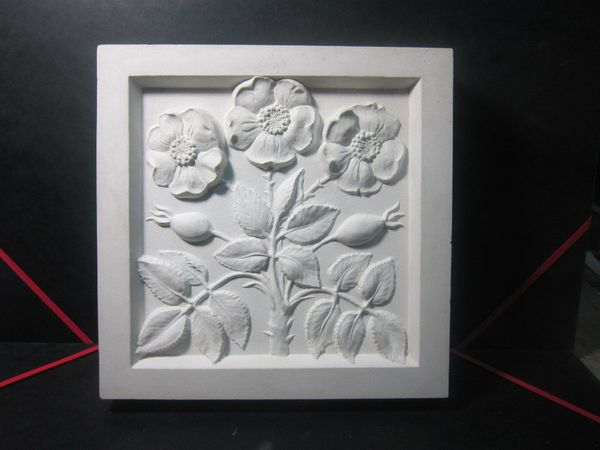 Чудо-плитки (о гипсе и декоративных рельефах). | Ярмарка Мастеров - ручная работа, handmade