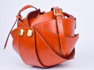 Описание женской сумки Орешек. Ярмарка Мастеров - ручная работа, handmade.