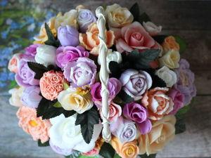 Нежные цветы для мамы!. Ярмарка Мастеров - ручная работа, handmade.