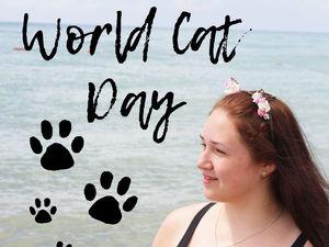Всемирный день кошек. Ярмарка Мастеров - ручная работа, handmade.