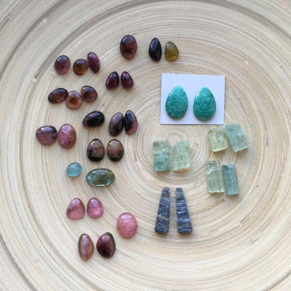 турмалины, камни натуральные, екатеринбург, зачарованная