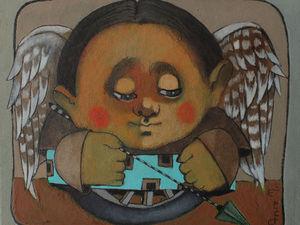 Ангел Хранитель   Ярмарка Мастеров - ручная работа, handmade