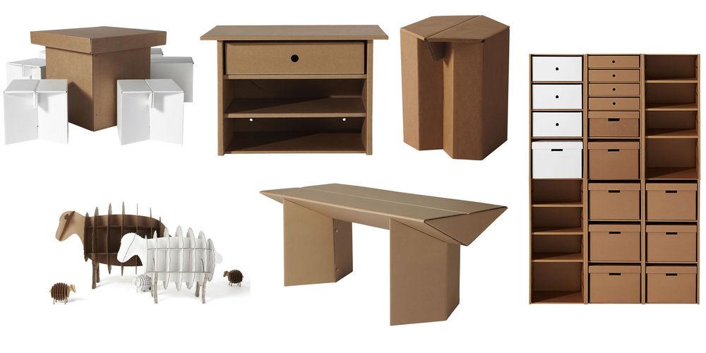 Картонная мебель своими руками мастер-класс