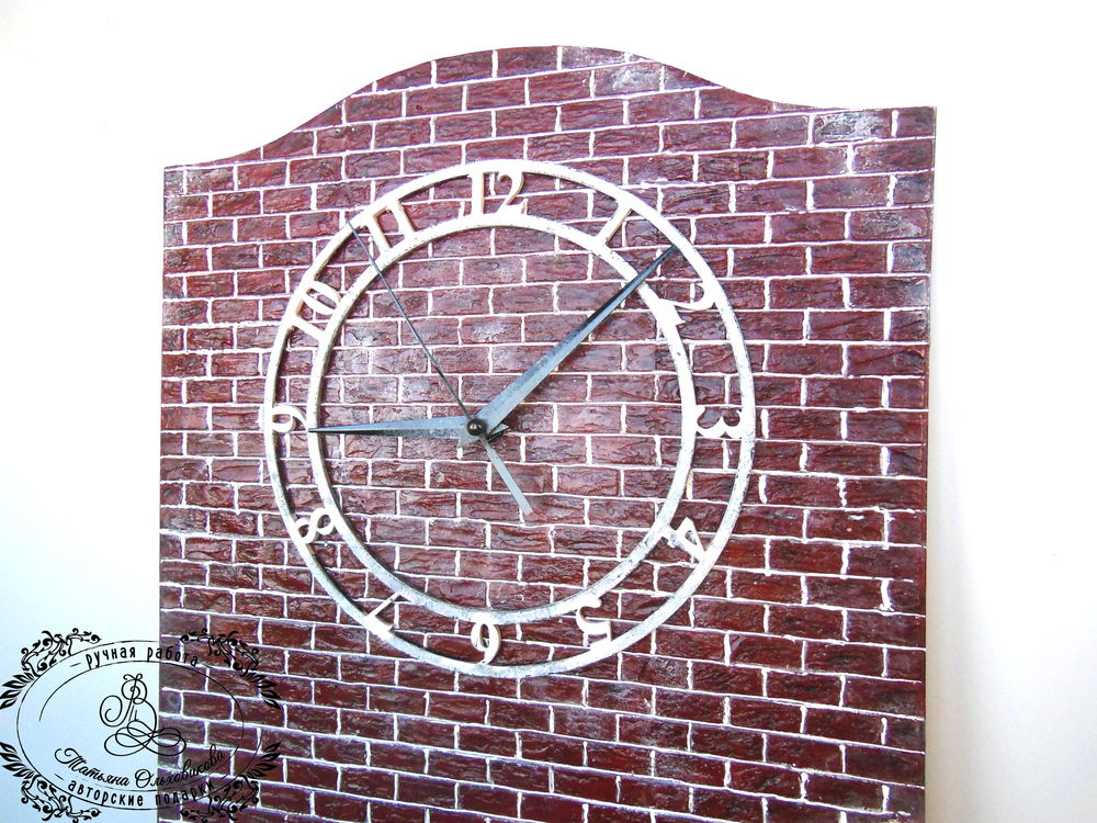 часы лофт, подарок мужчине
