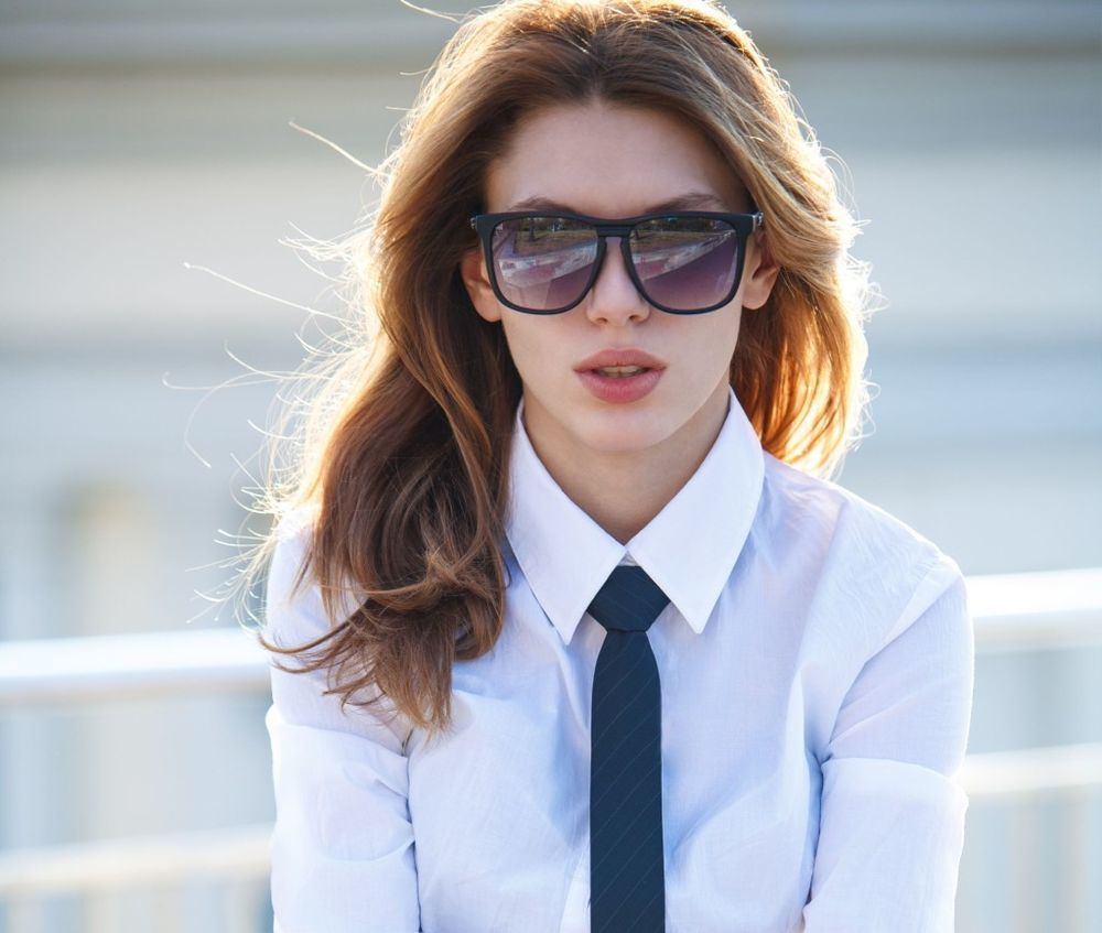 женский галстук
