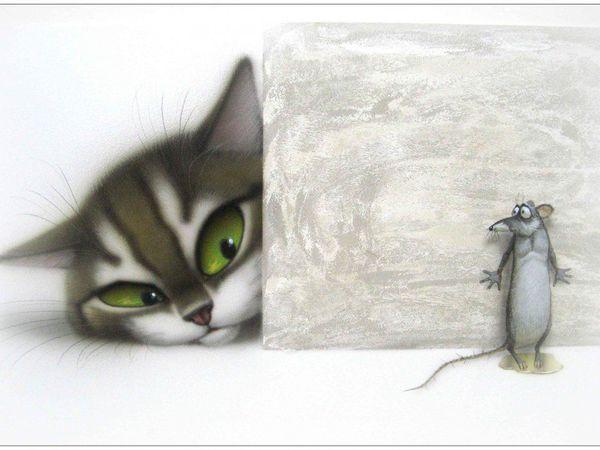 Безопасность кошки в доме | Ярмарка Мастеров - ручная работа, handmade
