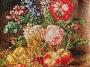 Аукцион на лидера просмотров. Опять Цветы и фрукты. Ярмарка Мастеров - ручная работа, handmade.