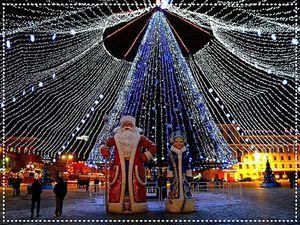 Необыкновенная красота улиц в новогоднем убранстве. Ярмарка Мастеров - ручная работа, handmade.