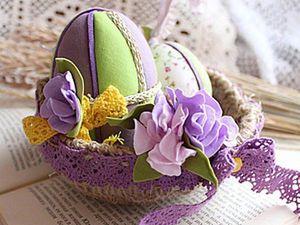 Easter Nest: Creating an Interior Decoration. Livemaster - handmade