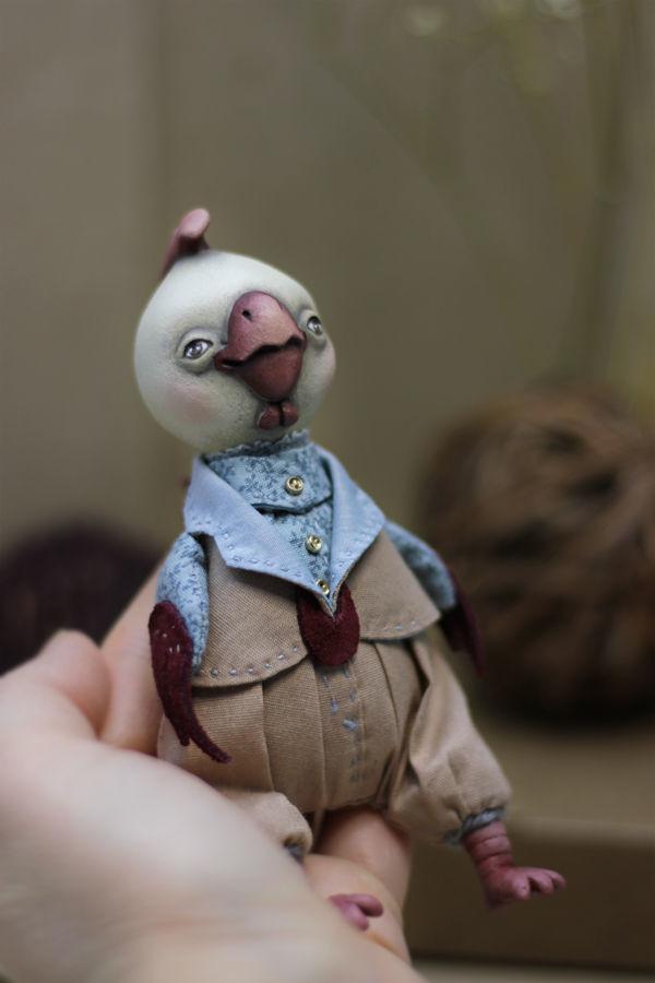 авторская кукла, кукла петушок, новая кукла