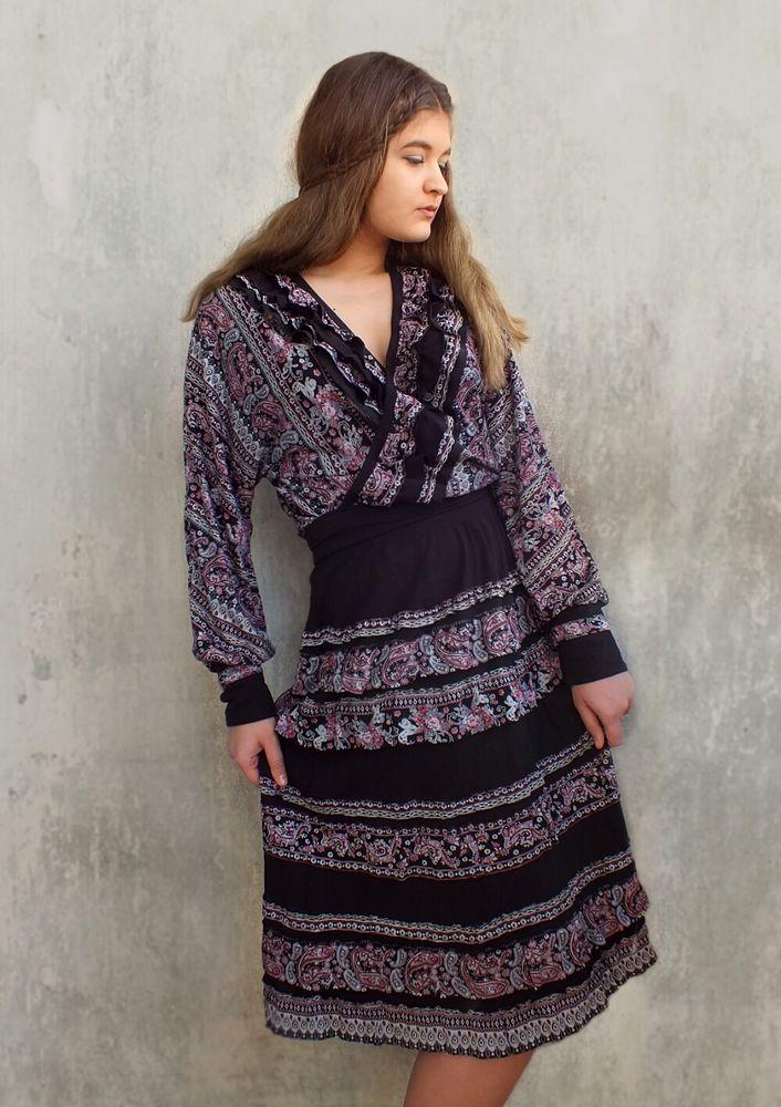 восточный стиль, трикотажное платье