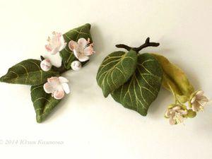 валяние на каркасе, цветочные композиции