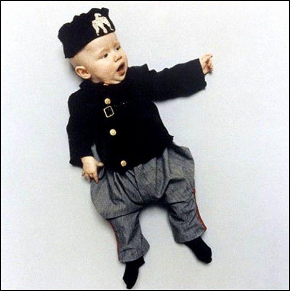 Маленький Бенито Муссолини