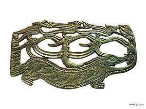 Пермский звериный стиль. Ярмарка Мастеров - ручная работа, handmade.