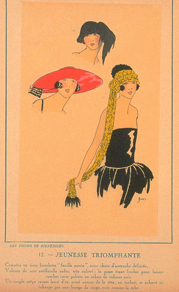 Ах, какие шляпки! Шляпная мода 1922 года по версии французского журнала «Les chapeaux du Tres parisien». Часть 2, фото № 33