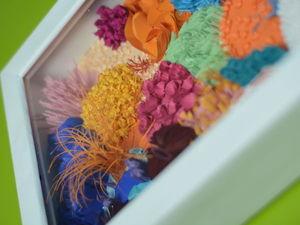 Делаем объемную картину из обрезков цветной бумаги. Ярмарка Мастеров - ручная работа, handmade.