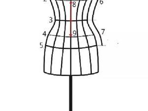 Как самостоятельно снять мерки для подгрудного корсета. Ярмарка Мастеров - ручная работа, handmade.