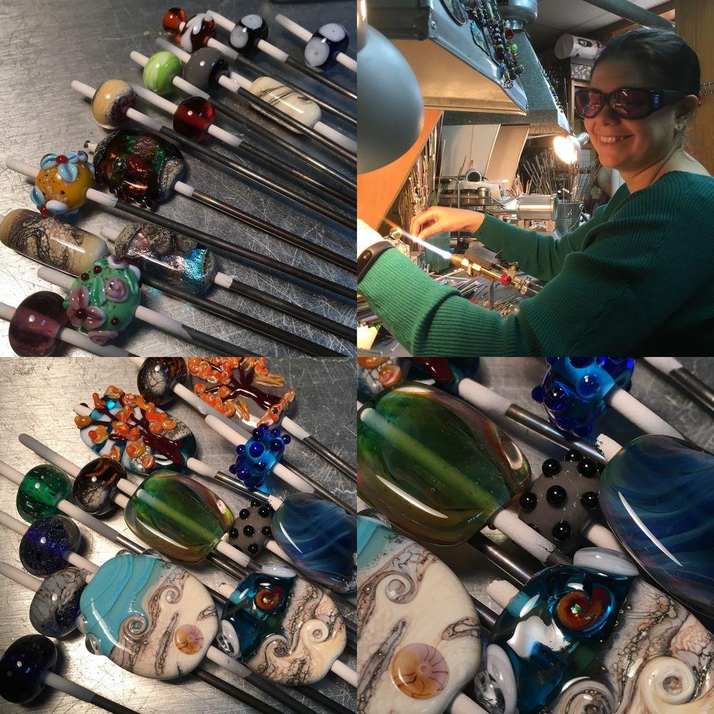 обучение, мастер-класс, бранзулетка, branzuletka, стекло