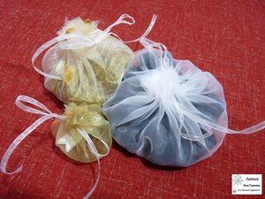 Делаем быструю упаковку из органзы. Ярмарка Мастеров - ручная работа, handmade.