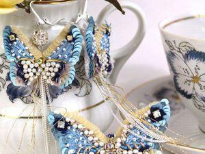 Вышитая коллекция бабочек | Ярмарка Мастеров - ручная работа, handmade