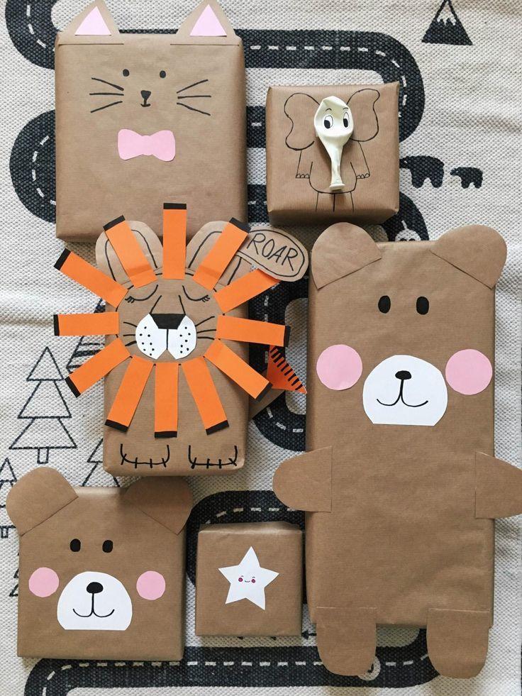 Необычная упаковка подарков для детей