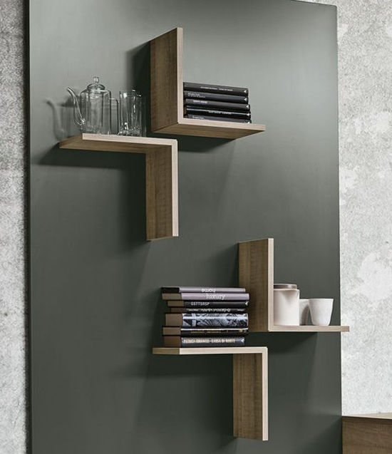 Simple and Budget Ideas for Home: Open Shelves and Ways of Mounting, фото № 2